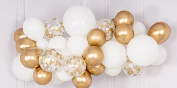Как сделать гирлянду из воздушных шаров своими руками - оформление воздушными шариками гирлянды